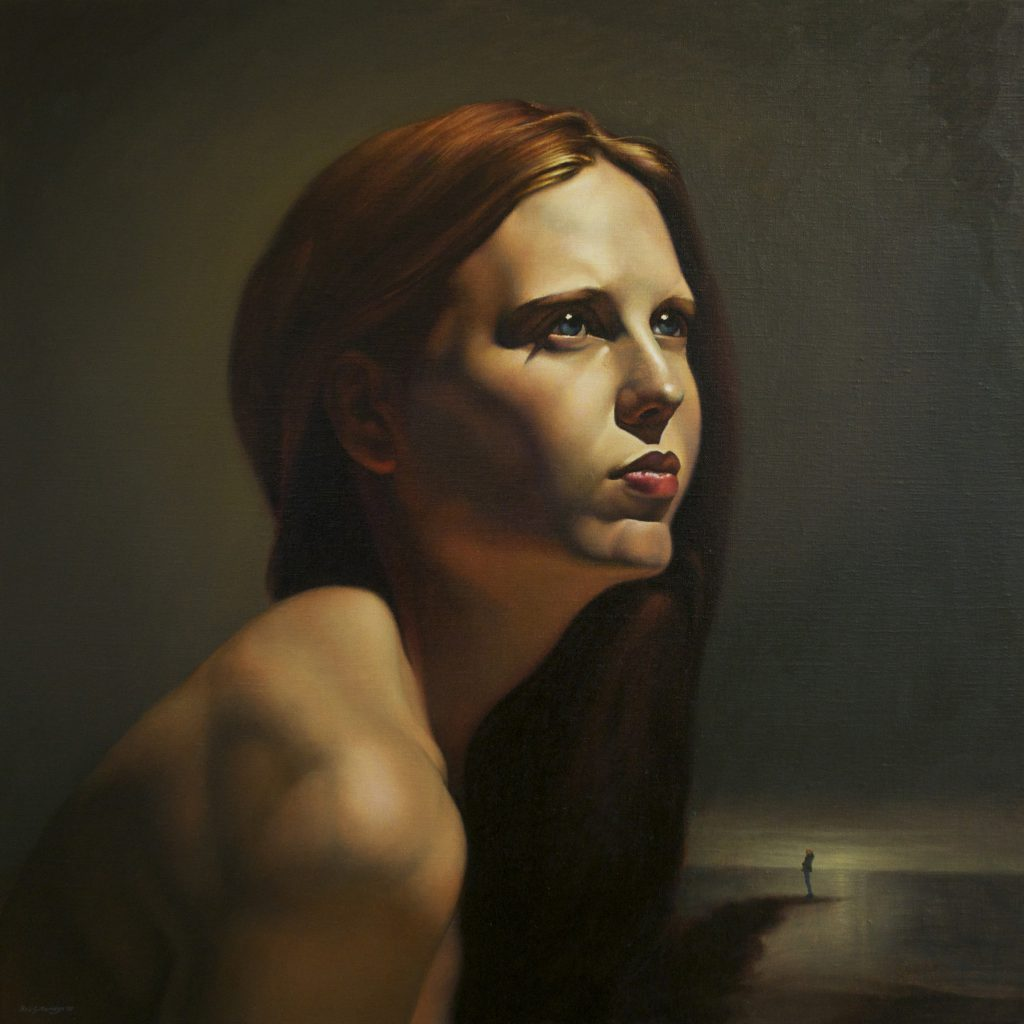 PAINTING: Rob Gutteridge, oil on linen, 61cm x 61cm, 2015